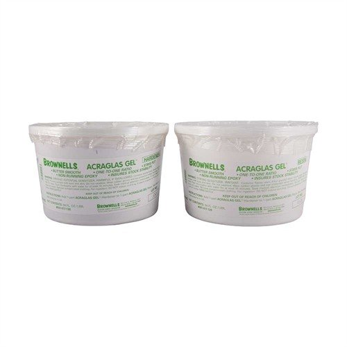 1 Gallon ACRAGLAS GEL, 64 oz. Resin & 64 oz. Hardener, only