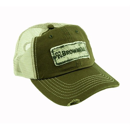 Brownells Green/Khaki Cap