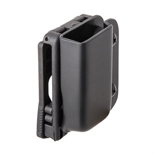 Single Mag Pouch-S&W M&P Shield-Black-RH-Tek Lok