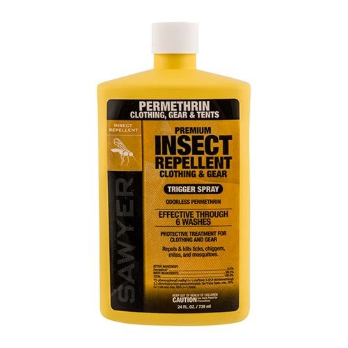 Permethrin Insect Repellent for Clothing & Gear