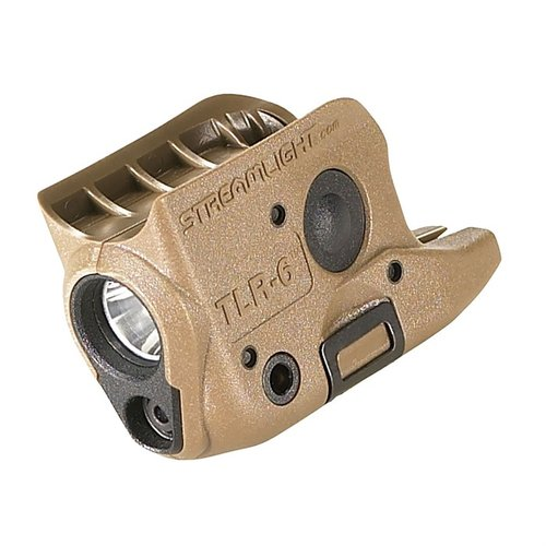 Glock® 42/43 TLR-6 Weapon Light & Laser FDE