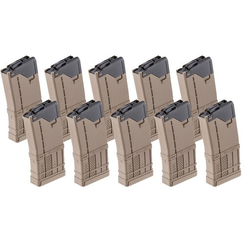 AR-15 L5AWM Flat Dark Earth Magazine 20-Rd