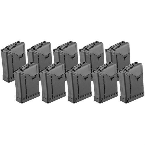 AR-15 L5AWM Opaque Black Magazine 10pack