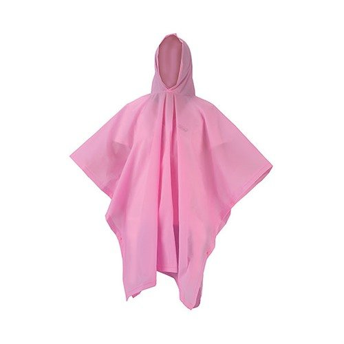 Youth Eva Rain Poncho, Pink