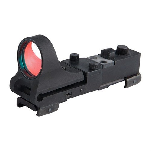 Aluminum Railway 8 MOA Click Switch, Black