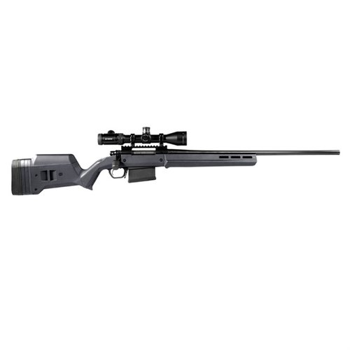 Rem 700 LA Hunter Stock Adj Polymer Gray
