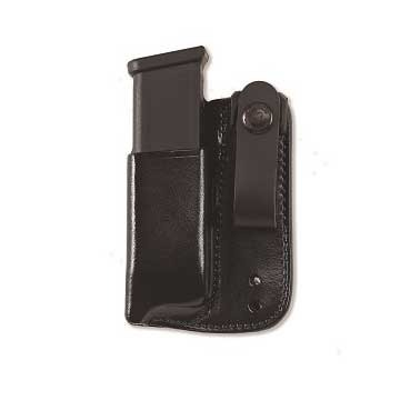 Inside Waistband Mag Carrier .40 Staggered Metal Mag-Black