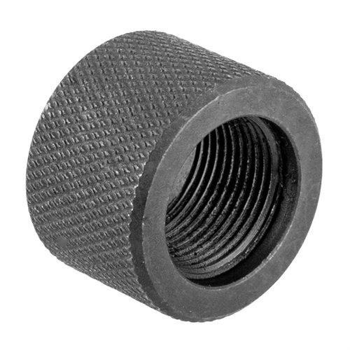 Bull Barrel Thread Protector 1/2-28 Black