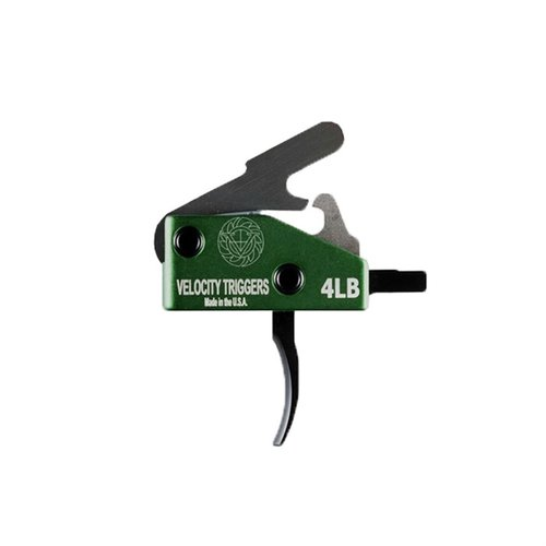 AR-15 Velocity Trigger 4lb Curved