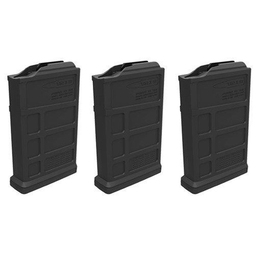 Short Action AICS PMAG AC Magazine 308 Win 10rd Blk 3 Pack