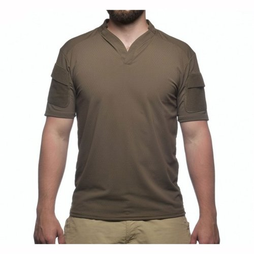 Boss Rugby Shirt Short Sleeve Ranger Green Med