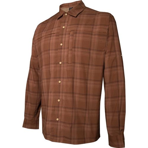 Long Sleeve Speed Concealed Carry Shirt Bark Large