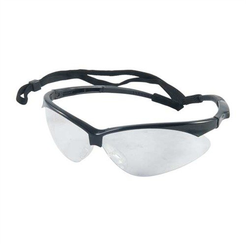 Clear Outback Shooting Glasses Black