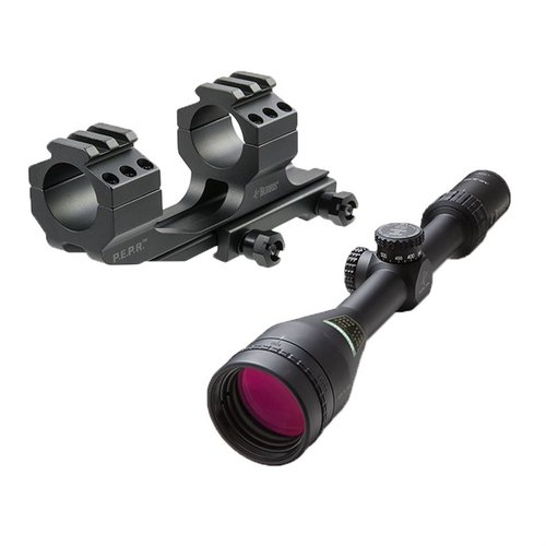 4.5-14x42mm Adj. Obj. C4 Wind MOA Reticle w/PEPR Mount