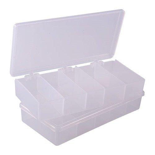 "7""x3-1/2""x1-1/4"", 5 Compartments Pkg. of 2"