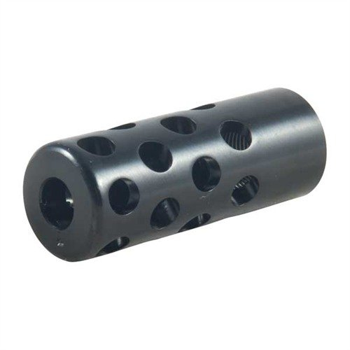 Quiet Muzzle Brake 7 MM 1/2-28 Steel Blued
