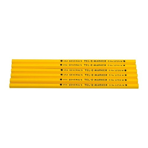 6 Yellow Pencils