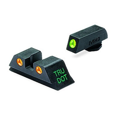 Sight Set (fixed green/orange) for 10mm & 45acp