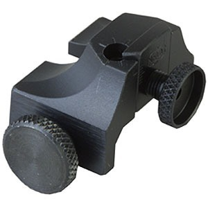 Rifle  Peep  Weaver Rear Sight Black