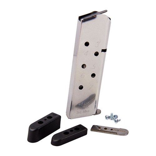 KimPro Tac-Mag, 45 ACP, full-size, ss, 8-round