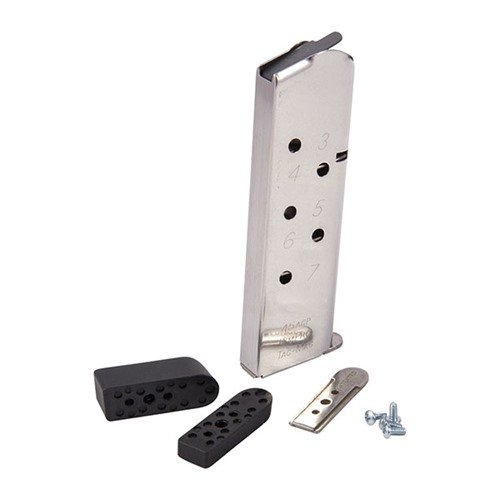 KimPro Tac-Mag, 45 ACP, full size, ss, 7-round