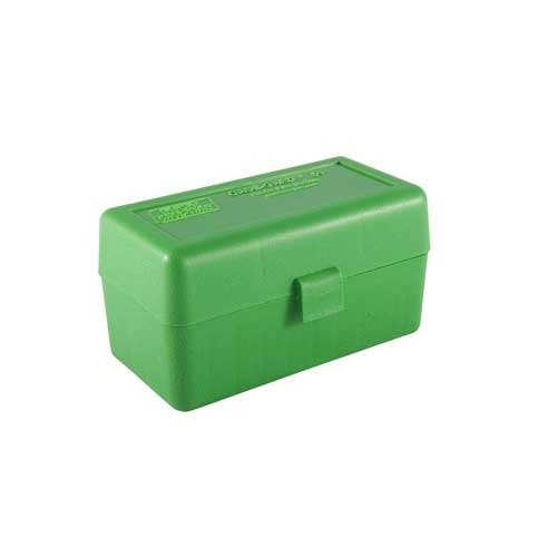 Ammo Boxes Rifle Green 220 Swift-338 Federal 50