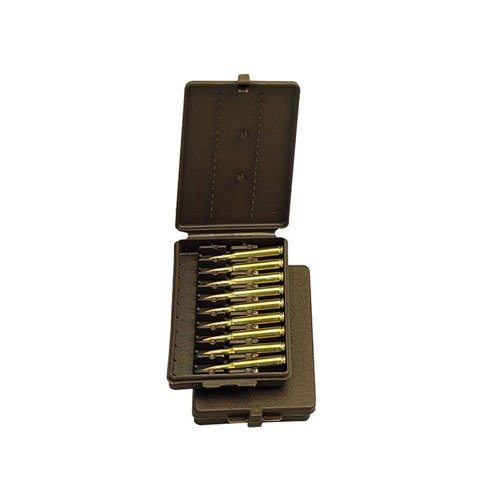 Ammo Boxes Rifle Brown 22-300 9