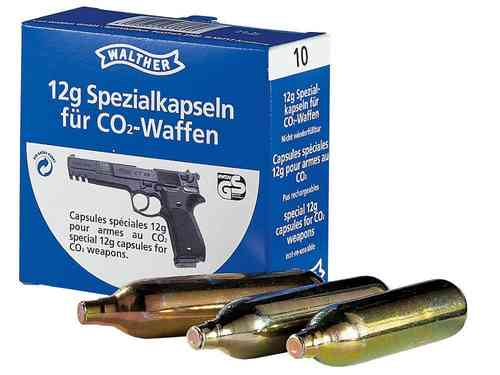 Walther CO2 patroner drivgass